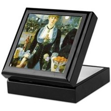 Manet, A Bar at the Folies-Bergere Keepsake Box