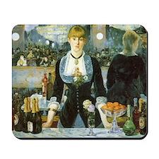 Manet, A Bar at the Folies-Bergere Mousepad