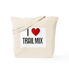 I LOVE TRAIL MIX Tote Bag