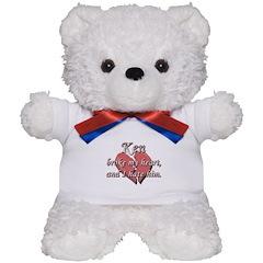 Ken broke my heart and I hate him Teddy Bear