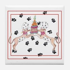 Whippet Chefs Tile Coaster