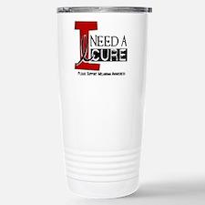 I Need A Cure MELANOMA Travel Mug