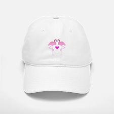 Flamingo Love Baseball Baseball Cap