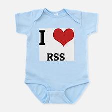 I Love Rss Infant Creeper