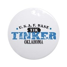 Tinker Air Force Base Ornament (Round)