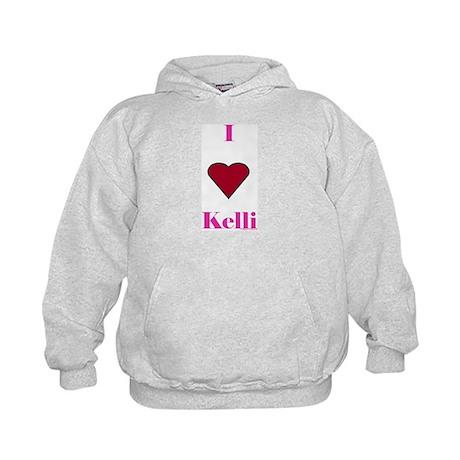 Heart Kelli Kids Hoodie