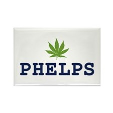 PHELPS POTHEAD Rectangle Magnet