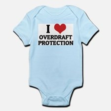 I Love Overdraft Protection Infant Creeper