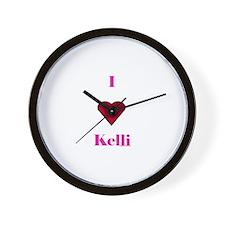 Heart Kim Wall Clock
