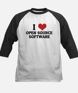 I Love Open Source Software Tee