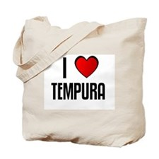 I LOVE TEMPURA Tote Bag
