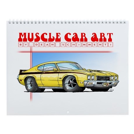 Muscle Car Art Calendar