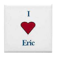 Heart Eric Tile Coaster
