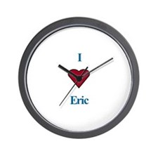 Heart Eric Wall Clock