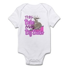 This Babe Bags Big Bucks Infant Bodysuit