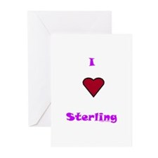 Heart Sterling Greeting Cards (Pk of 20)