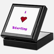 Heart Sterling Keepsake Box