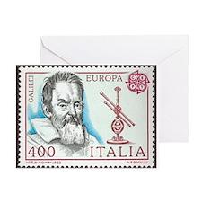 Galileo 1984 Stamp Greeting Card