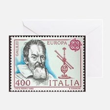 Galileo 1984 Stamp Greeting Card