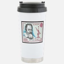 Galileo 1984 Stamp Stainless Steel Travel Mug