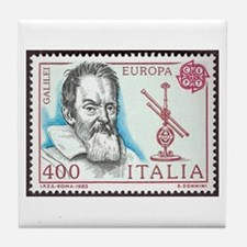 Galileo 1984 Stamp Tile Coaster