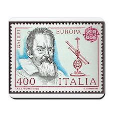 Galileo 1984 Stamp Mousepad