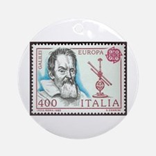 Galileo 1984 Stamp Ornament (Round)