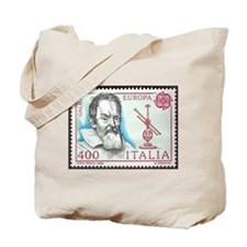 Galileo 1984 Stamp Tote Bag