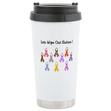 Lets Wipe Out Autism! Travel Mug