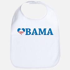 Obama Love Bib