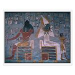 Khepri and Osiris 15 x 19 inch Poster