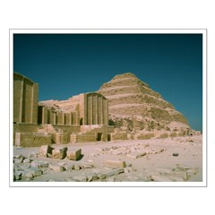 Step Pyramid 15 x 19 inch Poster