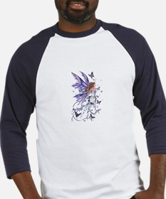 Purple Butterfly Fairy Baseball Jersey