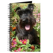 Black Miniature Schnauzer Journal