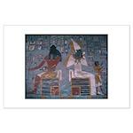 Khepri and Osiris 23 x 18 inch Poster