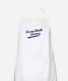 Home Birth Mama Baseball BBQ Apron