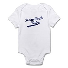 Home Birth Baby Baseball Infant Bodysuit