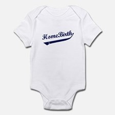 Home Birth Baseball Infant Bodysuit