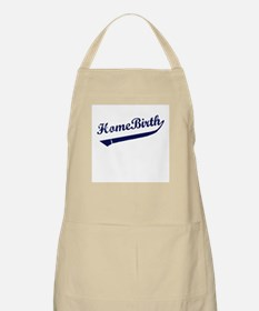 Home Birth Baseball BBQ Apron