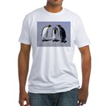 Three Penguins Fitted T-Shirt