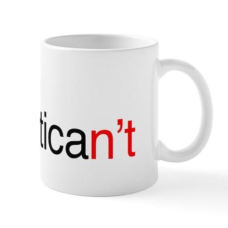 Helvetican't Mug