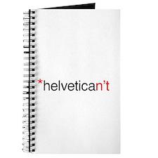 Helvetican't Journal