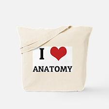 I Love Anatomy Tote Bag