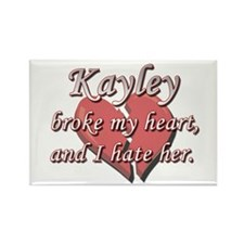 Kayley broke my heart and I hate her Rectangle Mag