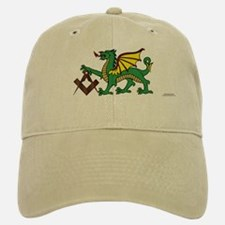 Green Dragon Baseball Baseball Cap