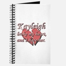 Kayleigh broke my heart and I hate her Journal