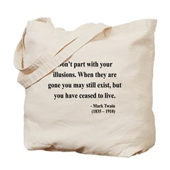 Mark Twain 10 Tote Bag