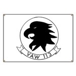 VAW 113 Black Eagles Banner