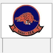 VAW 114 Hormel Hog Yard Sign