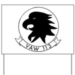 VAW 113 Black Eagles Yard Sign